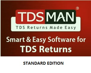 Tdsman Tds Software For E Tds Return Filing Standard Edition